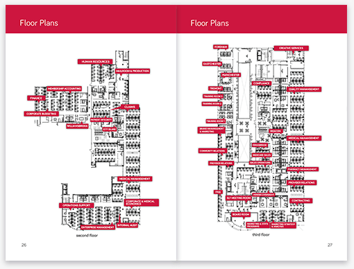 Affinity Welcome Booklet Floor Plans Pages