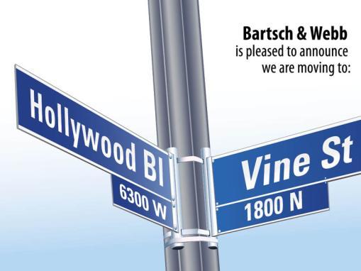 Bartsch & Webb Moving Post Card