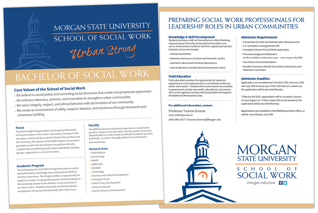msu school of social work flyers david m littlefield