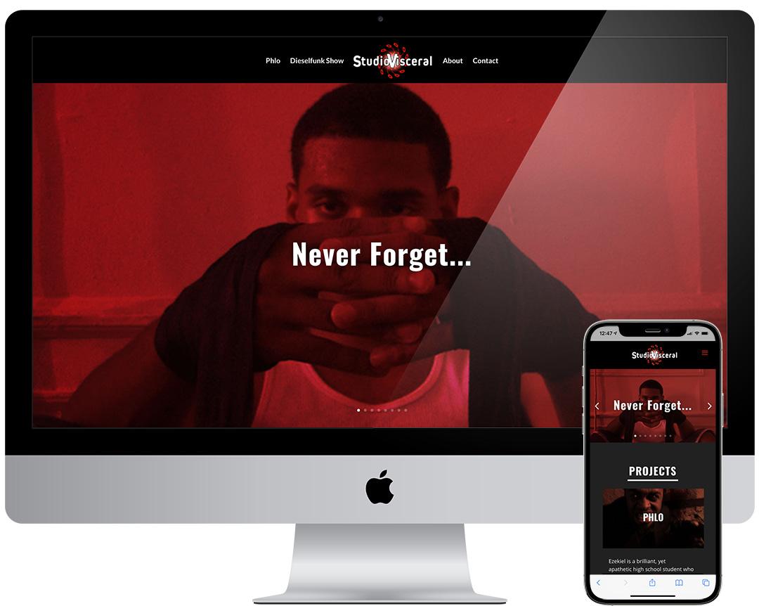 Studio Visceral Website
