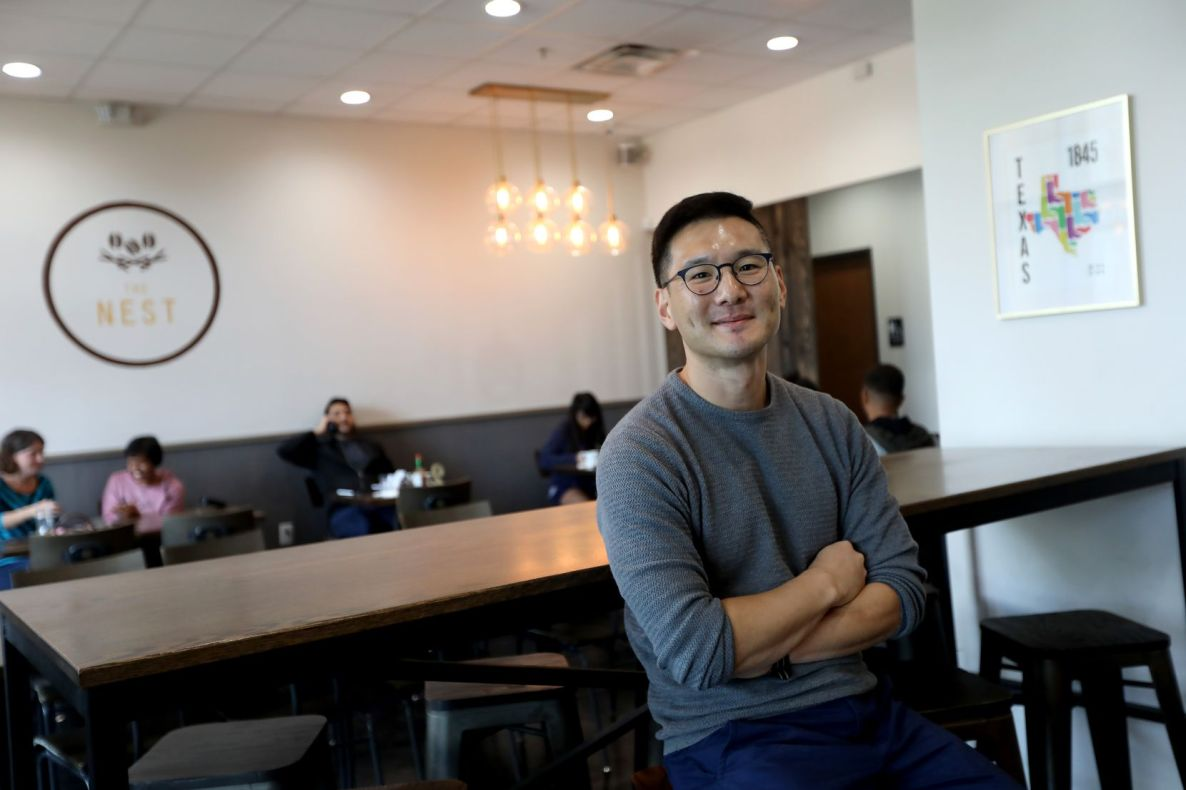 Andrew Jin, owner of Nest Cafe in Frisco, had never worked in the restaurant business before.