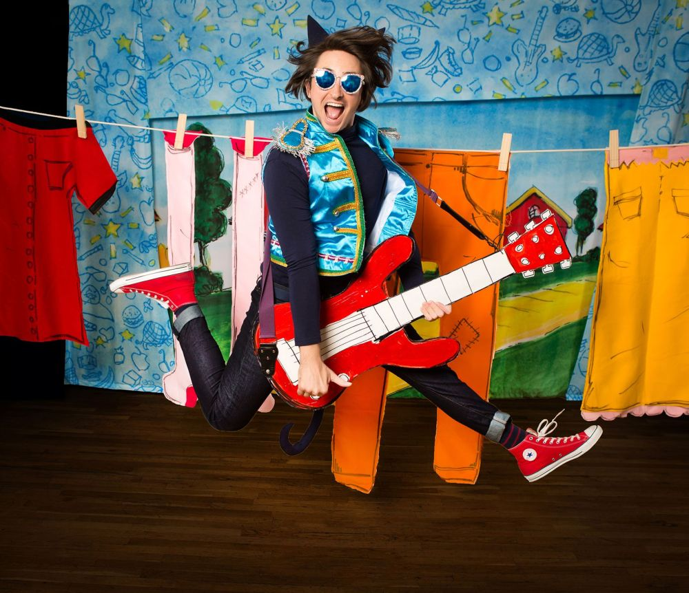 See Pete shred onstage in the live touring version of 'Pete the Cat,' coming to the Eisemann Center this weekend.
