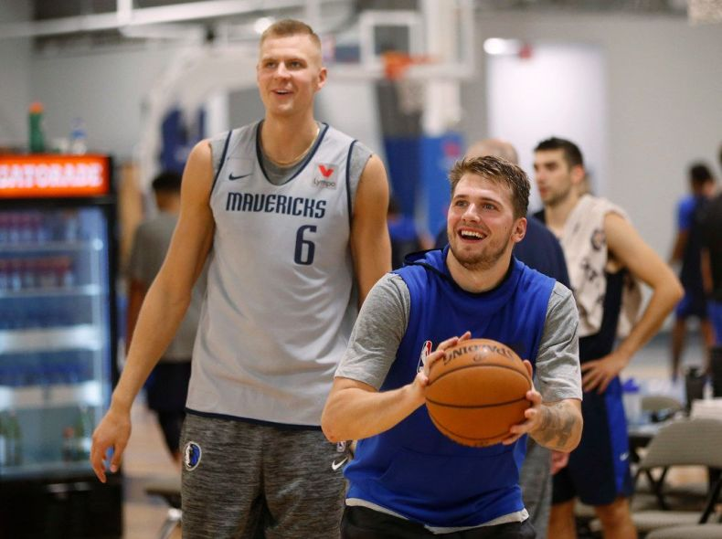 Image result for doncic porzingis