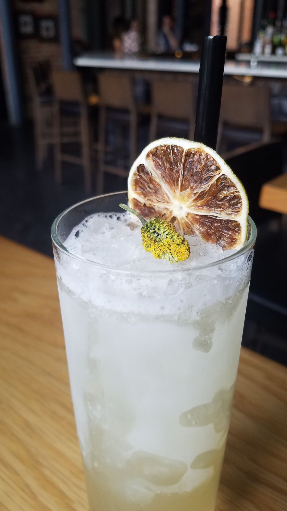 The Green Tara, a cocktail at Hide in Deep Ellum, will land on the new menu when Hide reopens on Greenville Avenue in Dallas.