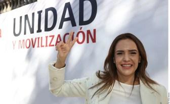 Clara Luz Flores es la candidata de Morena a gobernadora de Nuevo León