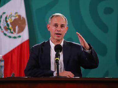 Hugo López-Gatell informó que el miércoles iniciará la vacunación contra covid-19 en 39 municipios de la frontera norte con vacunas donadas por Estados Unidos.