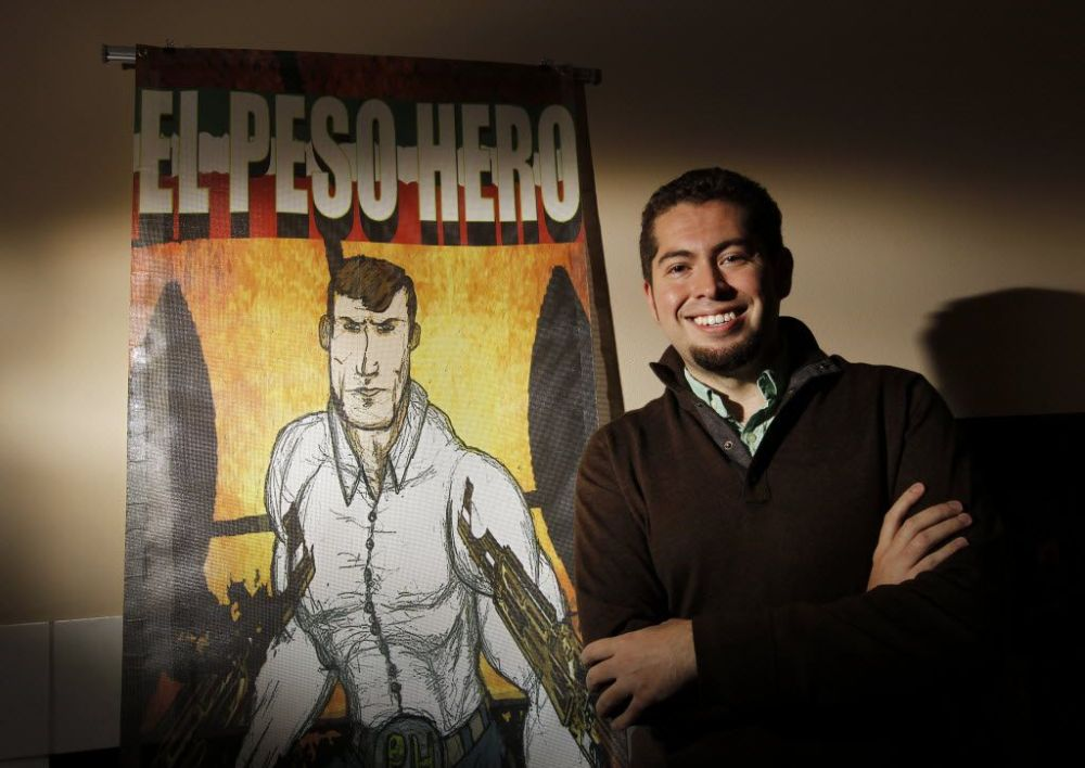 A talk with Hector Rodriguez, the founder of Rio Bravo Comics, creator of El Peso Hero and co-founder of Texas Latino Comic Con, will close out the convention.