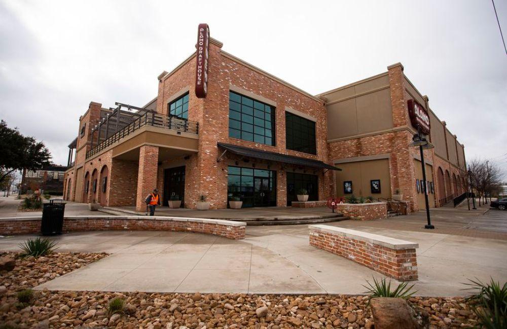 Alamo Drafthouse Cinema's Cedars location is pictured on Feb. 17, 2020 in Dallas.
