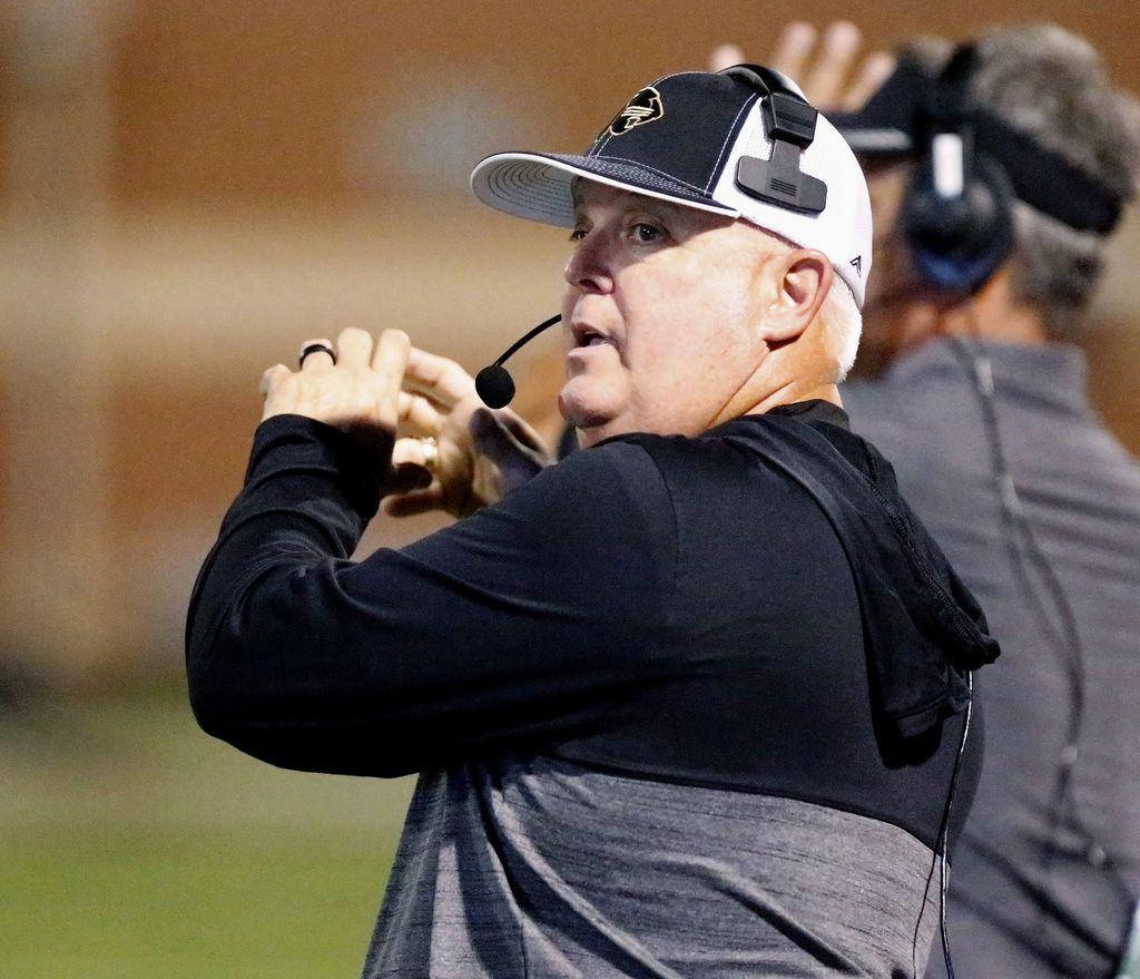 Keller Fossil Ridge Head Football Coach Tony Baccarini Retires
