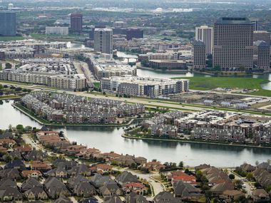 Aerial view of Las Colinas photographed on Thursday, March 12, 2020.
