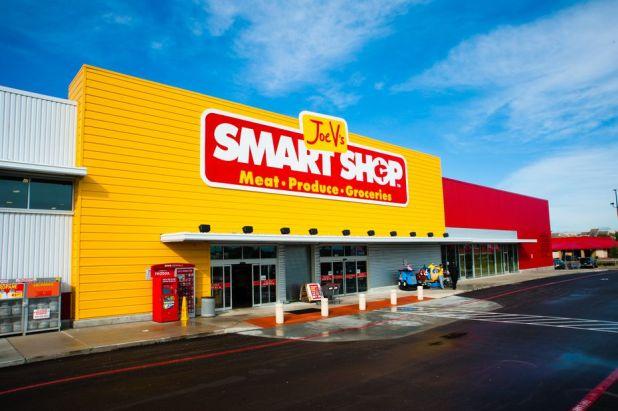 Joe V's Smart Store is HEB's supermarket discount banner.