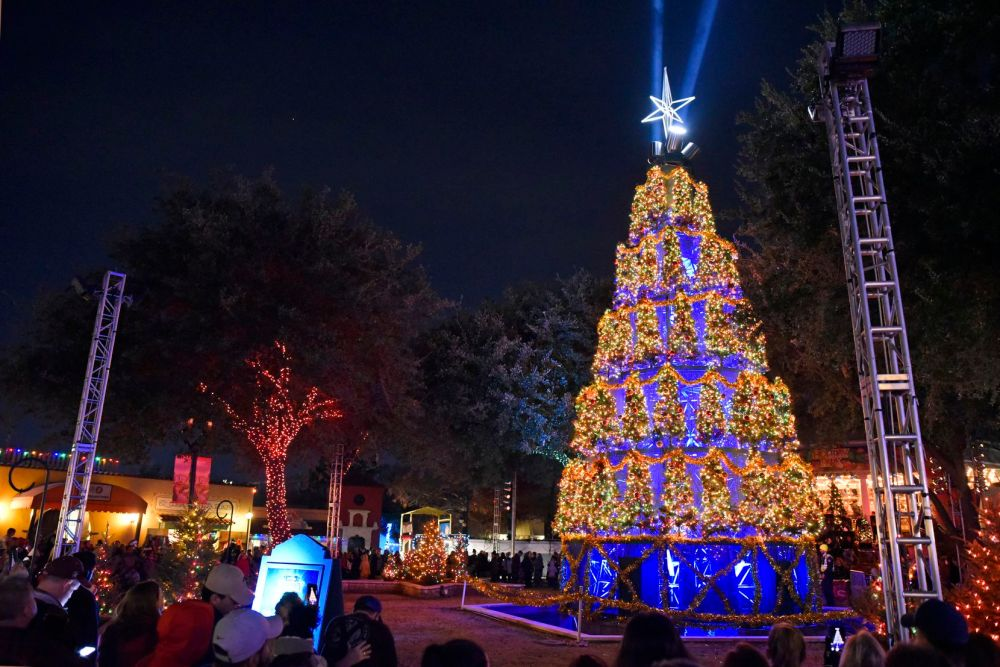 Six Flags Over Texas will be filled with millions of twinkling lights.