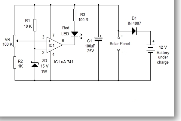 Voltage Monitor For Solar Panel. Design Note 46