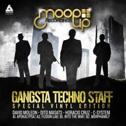 "Gangsta Techno Staff - Moopup Records Vinyl 012 / Vinilo 12"""