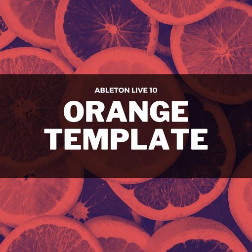David Moleon - Orange / Techno / Ableton Live 10 Template