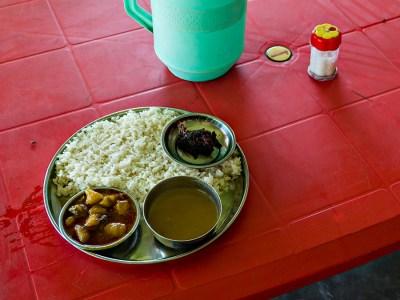 Simple Bengali breakfast