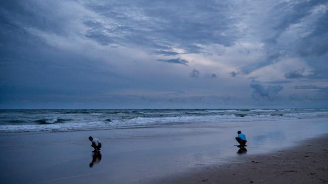Fishermen, Puri Beach, Orissa