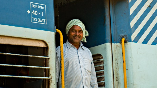 The train up to Araku Valley