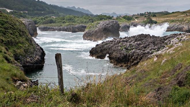The coast at Buelna