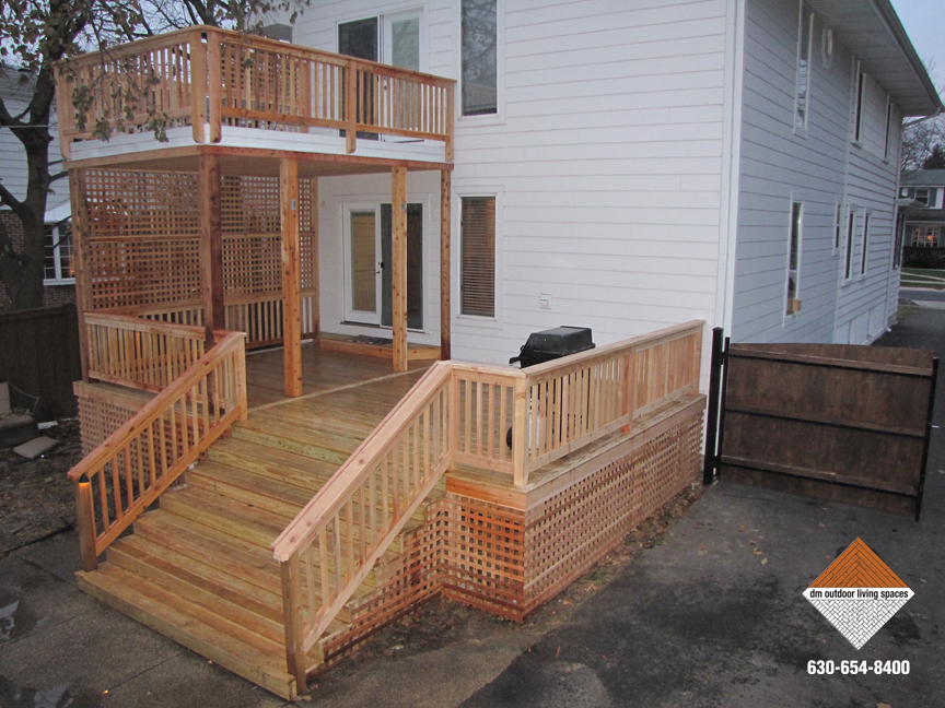 Decks and Railings | Outdoor Patio on D&M Outdoor Living Spaces id=28125