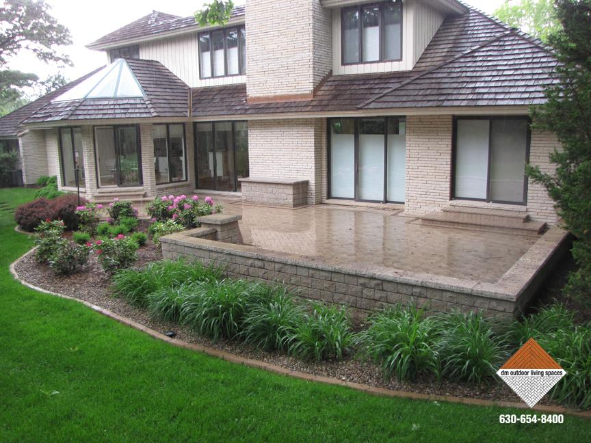 Patio Pavers | Paving Stones | Custom Patio Design on Square Patio Designs id=53179