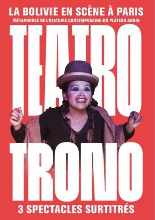 affiche teatro trono
