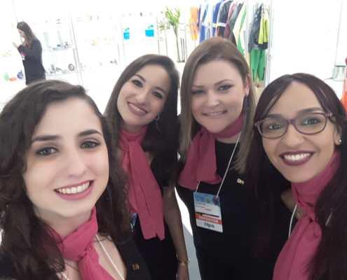 Deborah, Jéssica Fioco, Melissa e Jéssica Verena