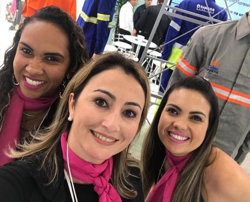 Danielle, Cris e Bruna #TeamTecido