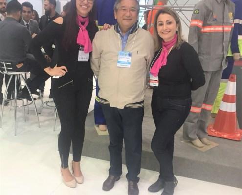 Waldemar, Cris e Jéssica Verena, parceria de sucesso!