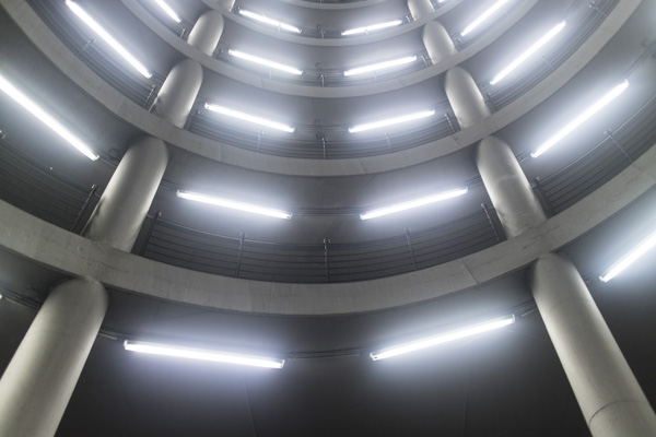 parking garage lighting installed by Commercial Electrician in Concord, CA.