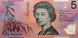 Five dollar note