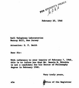 Harvard Reply