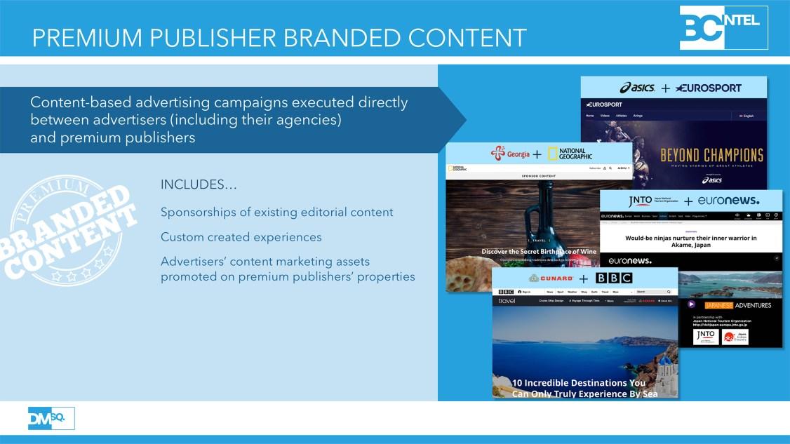 Premium Publisher Branded Content