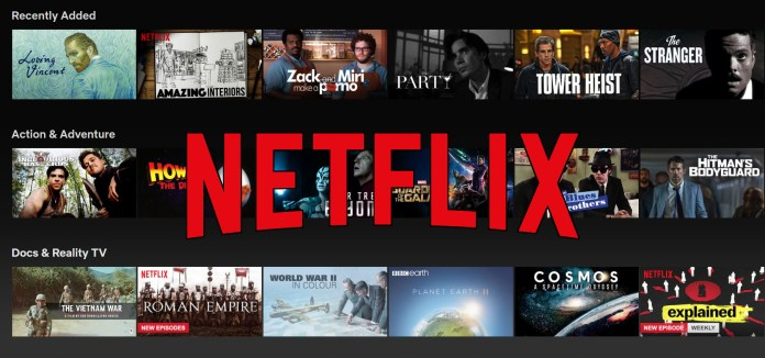 Ten Greatest Film of All Time Streaming on Netflix!