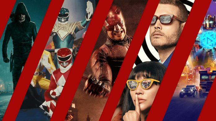 BEST SUPERHERO TV SHOWS ON NETFLIX