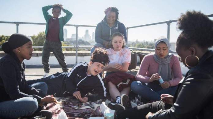 Rocks 2019 Film analysis Summary Synopsis  Sarah Gavron