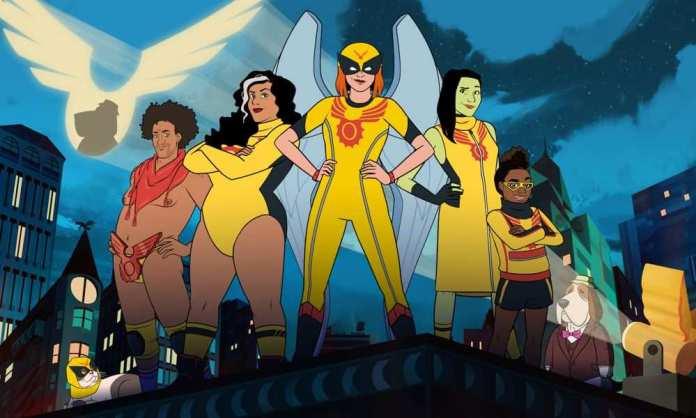 Birdgirl Season 1 Summary & Review 2021 Animated Series