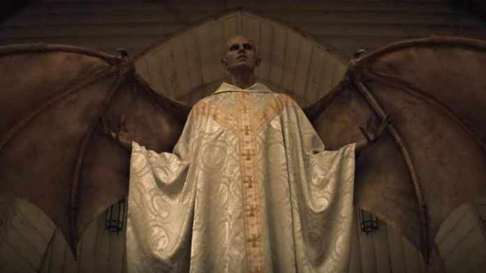 Evil Creature of Midnight Mass What was inside Father John Paul's trunk?