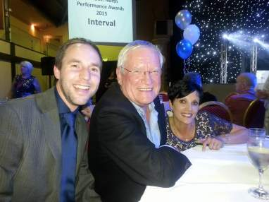Ed Turner, Bob Gale and Shireen Gale - NODA Awards 2015