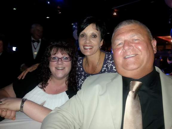Michelle Hood, Shireen Gale and Paul Maddison - NODA Awards 2015
