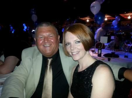 Paul Maddison and Rebecca Turner - NODA Awards 2015