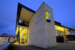 Gala Theatre (Outside, Night)