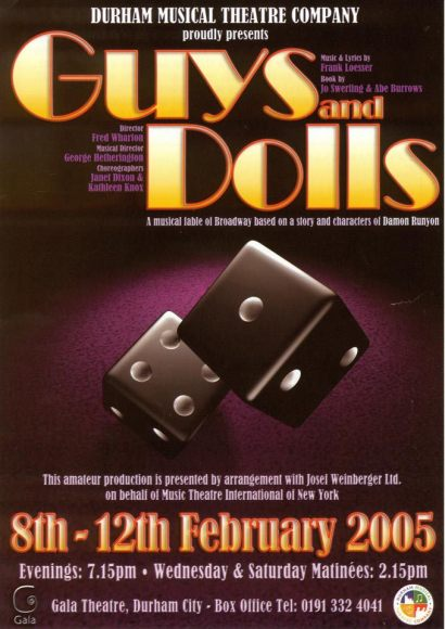 Guys and Dolls (2005) Poster