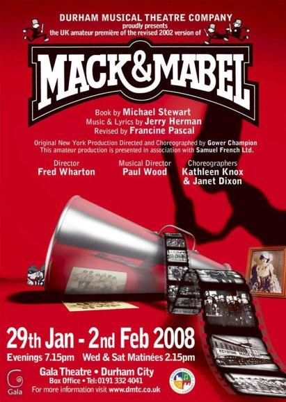 Mack & Mabel (2008) Poster