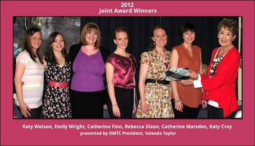 Katy Walton, Emily Wright, Catherine Finn, Rebecca Turner, Catherine Marsden, Katy Croy - Mary Hamilton Award 2012