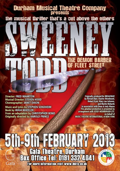 Sweeney Todd (2013) Poster