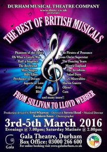 The Best of British Musicals Poster