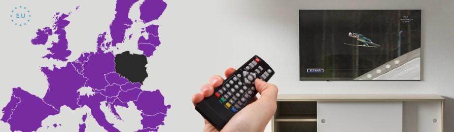 Oglądanie telewizji naziemnej cyfrowej