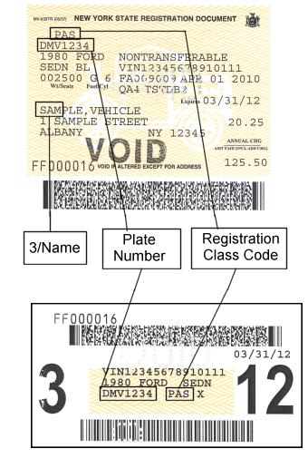 Find My Car Registration