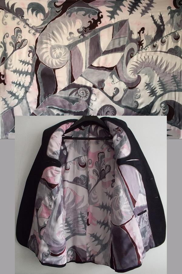 silver fern collage